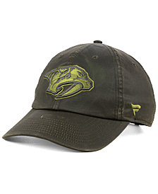 Authentic NHL Headwear Nashville Predators Fundamental Waxed Adjustable Cap
