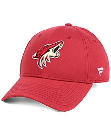 Authentic NHL Headwear Arizona Coyotes Fan Basic Adjustable Cap