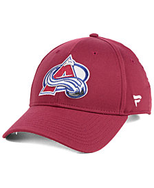 Authentic NHL Headwear Colorado Avalanche Fan Basic Adjustable Cap