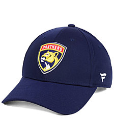 Authentic NHL Headwear Florida Panthers Fan Basic Adjustable Cap
