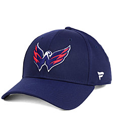 Authentic NHL Headwear Washington Capitals Fan Basic Adjustable Cap