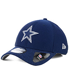 New Era Dallas Cowboys Popped Shadow 39THIRTY Stretch Fitted Cap