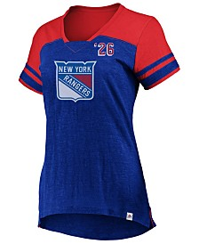 Majestic Women's New York Rangers Hyper V Neck T-Shirt