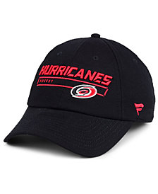 Authentic NHL Headwear Carolina Hurricanes Rinkside Fundamental Adjustable Cap