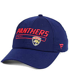 Authentic NHL Headwear Florida Panthers Rinkside Fundamental Adjustable Cap