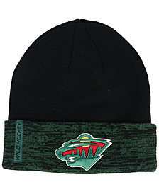 Authentic NHL Headwear Minnesota Wild Pro Rinkside Cuffed Knit Hat