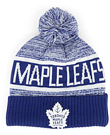 Authentic NHL Headwear Toronto Maple Leafs Goalie Knit Hat