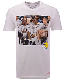 Mitchell & Ness Men's Golden State Warriors Photo Real T-Shirt