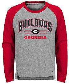 Outerstuff Georgia Bulldogs Audible Long Sleeve T-Shirt, Big Boys (8-20)