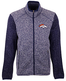 G-III Sports Men's Denver Broncos Alpine Zone Sweater Fleece Jacket