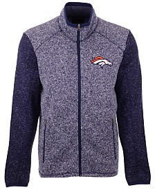 G-III Sports Men's Denver Broncos Alpine Zone Sweater Fleece Jacket