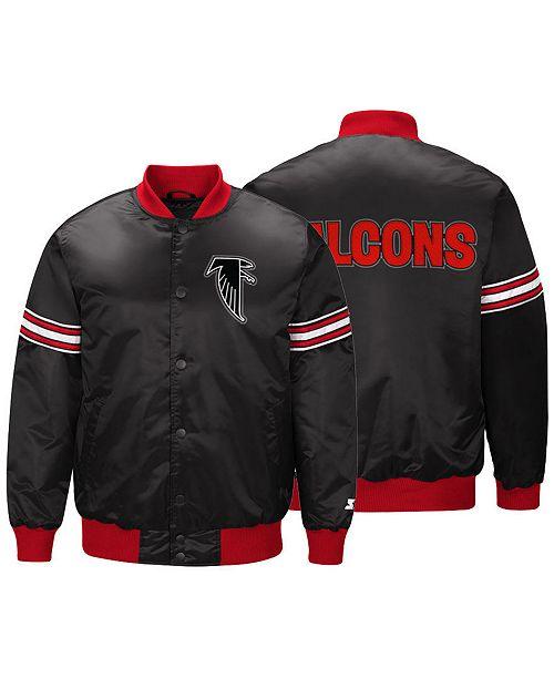 ... G-III Sports Men s Atlanta Falcons Draft Pick Starter Satin Jacket ... 38214dd79