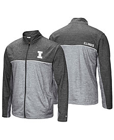 Colosseum Men's Illinois Fighting Illini Reflective Full-Zip Jacket