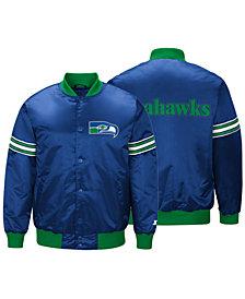 G-III Sports Men's Seattle Seahawks Draft Pick Starter Satin Jacket