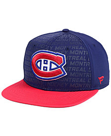 Authentic NHL Headwear Montreal Canadiens Rinkside Snapback Cap