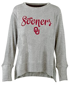 Women's Oklahoma Sooners Cuddle Knit Sweatshirt