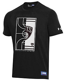 Under Armour Men's Brooklyn Nets Banners Begin in the Gym T-Shirt