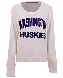 Pressbox Women's Washington Huskies Cuddle Knit Sweatshirt