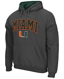 Colosseum Men's Miami Hurricanes Arch Logo Hoodie