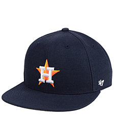 '47 Brand Boys' Houston Astros Basic Snapback Cap