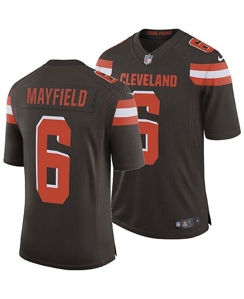 check out f941b 34dba Men's Baker Mayfield Cleveland Browns Limited Jersey