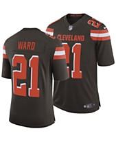 1d9266726 Nike Men s Denzel Ward Cleveland Browns Limited Jersey