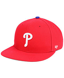'47 Brand Boys' Philadelphia Phillies Basic Snapback Cap