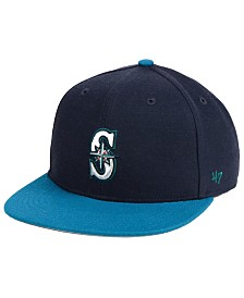 '47 Brand Boys' Seattle Mariners Basic Snapback Cap