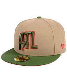 New Era Atlanta Hawks Fall 2 Tone Combo 59FIFTY-FITTED Cap