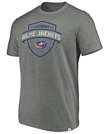 Majestic Men's Columbus Blue Jackets Flex Classic Tri-blend T-Shirt