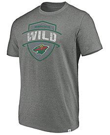 Majestic Men's Minnesota Wild Flex Classic Tri-Blend T-Shirt