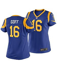 Nike Women's Jared Goff Los Angeles Rams Game Jersey