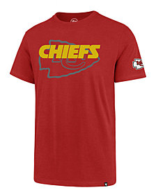 '47 Brand Men's Kansas City Chiefs Two Peat Super Rival T-Shirt