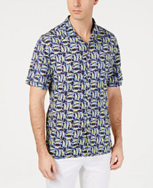 Tommy Bahama Men's Moorea Marlins Print Shirt