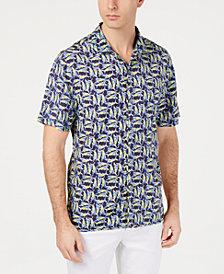 Tommy Bahama Men's Moorea Marlins Print Shirt