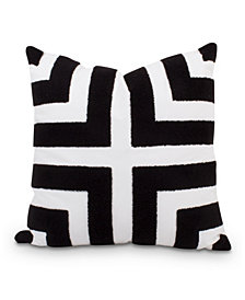 Loop Terry Pillow Black/White