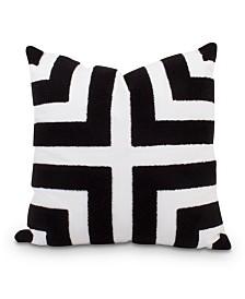 Loop Terry Pillow Black/White