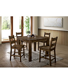 Belton II Rustic Counter Height Dining Table