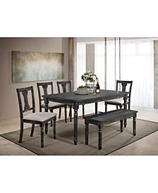 Frischoder Wood Grain Dining Table