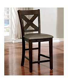 Brenly Counter Height Leatherette Dining Chair