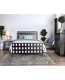 Bisquit Metal Woven Full Bed