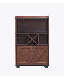 Glamdon Farmhouse Wine Cabinet