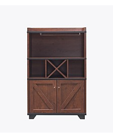 Glamdon Farmhouse Wine Cabinet
