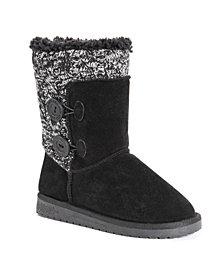 Muk Luks Women's Matilda Cold Weather Cozy Boots
