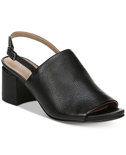 429fda2ad Franco Sarto Marielle Block-Heel Slingback Sandals   Reviews ...