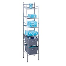 6-Tier Bathroom Storage Shelving Unit