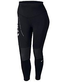 Nike Plus Size Power Colorblocked Leggings