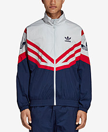 adidas Men's Originals Sportive Colorblocked Track Jacket