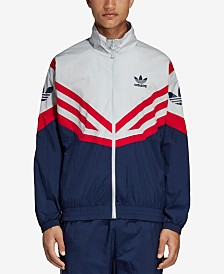 adidas Men's Originals Sportive Colorblocked Track Jacket