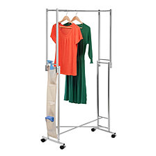 Honey Can Do Double Folding Garment Rack